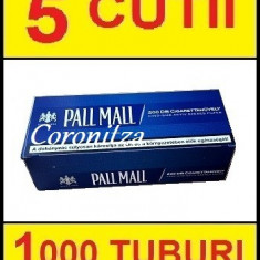 Tuburi tigari PALL MALL  multifilter - 1000 tuburi tigari / filtre tigari
