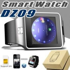 Smart Watch DZ09 ceas inteligent SIM garantie 12 luni, Alte materiale, Android Wear