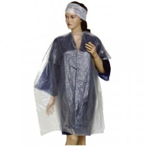 Mantale / pelerine de protectie de unica folosinta, 100 x 150 cm, 100 bucati