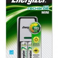 Incarcator Energizer cu 2 acumulatori 2000 mAH . Incarcator + 2 Acumulatori AA - Incarcator Aparat Foto