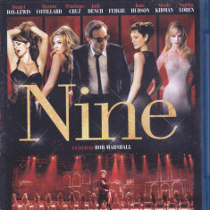 Film Blu Ray : Nine ( excelent muzical - original - subtitrare in lb.franceza ) - Film Colectie
