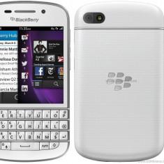 BlackBerry Q10 White Full Box Necodat La Cel Mai Mic Pret - Telefon mobil Blackberry Q10, Alb, Neblocat