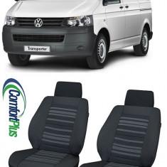 Huse Scaun Vw Transporter T5 2009-2015 Confort Line 2 locuri - Husa scaun auto