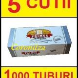 Tuburi tigari PRIMUS MULTIFILTER - 1000 tuburi tigari / filtre tigari - Foite tigari
