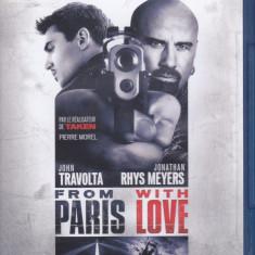 Film Blu Ray : From Paris With Love ( original - subtitrare in lb.franceza )