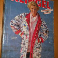 CATALOG MODA VINTAGE ANUL 1990 - 1991 - KLINGEL - IN LIMBA GERMANA - Revista moda