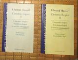 Husserl CERCETARI LOGICE VOL. II 2 si 3, cercetarile 3-6