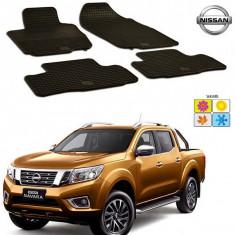 Set covorase auto Hitech din cauciuc Nissan Navara 2015-2016