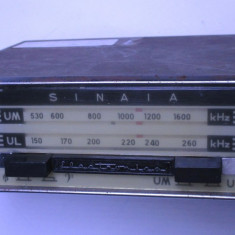 Un radio vechi auto Sinaia extrem de rar anii 60 Electronica dacia 1100