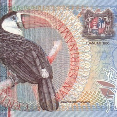 Surinam 25 Gulden 01.01.2000 - P-148 UNC !!! - bancnota america