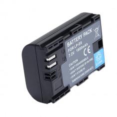 Acumulator replace LP-E6 1800mAh compatibil Canon EOS 5D Mark II III IV 7D 60D 70D 80D 6D 5D - Baterie Aparat foto, Dedicat