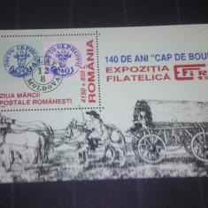 Romania 1998-LP 1461-Ziua marcii postale, colita, nestampilate. - Timbre Romania