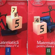 MATEMATICA PENTRU CLASA A V-A - CLUBUL MATEMATICIENILOR (2 volume) - Manual scolar, Clasa 5