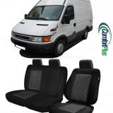 Huse Scaun Iveco Daily 2000-2006 3 locuri Confort Line - Husa Auto
