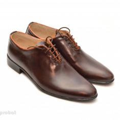 Pantofi barbati piele naturala maro casual-eleganti cod P65M - Editie de LUX, Marime: 37, 38, 39, 40, 41, 42, 43, 44, Culoare: Alb, Bleumarin, Negru