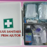 Trusa sanitara de prim ajutor, omologata si avizata, trusa medicala de perete