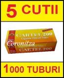 Tuburi tigari CARTEL FILTRU 25 mm - 1000 tuburi tigari / filtre tigari