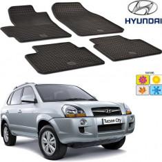 Set covorase auto Hitech din cauciuc Hyundai Tucson 2004-2009