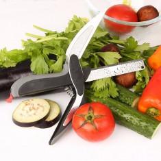 Cutit bucatarie multifunctional 2 in 1 Smart Cutter