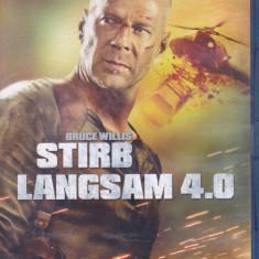 Film Blu Ray : Die Hard 4.0 ( original - subtitrare in lb.engleza )