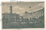 3569 - Bucovina, CERNAUTI,  Market Unirii - old postcard - unused, Necirculata, Printata