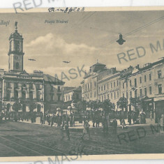 3569 - Bucovina, CERNAUTI, Market Unirii - old postcard - unused - Carte Postala Bucovina 1904-1918, Necirculata, Printata