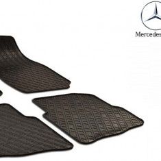 Set covorase auto Hitech din cauciuc pentru Mercedes-Benz C class W203 2000-2007
