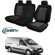Huse Scaun Peugeot Expert 2008-2016 3 locuri Confort Line - Husa scaun auto