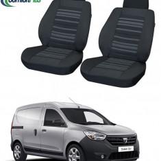 Huse Scaun Dacia Dokker 2012-2016 2 locuri Confort Line - Husa Auto