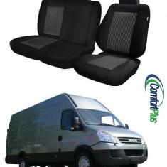 Huse Scaun Iveco Daily 2006-2011 3 locuri Confort Line - Husa scaun auto