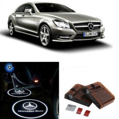 Proiectoare Logo Holograma cu sigla Mercedes-Benz dedicat pentru Mercedes Benz CLS - Embleme auto