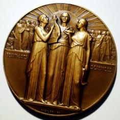 5.098 MEDALIE FRANTA ROUBAIX LILLE EXPOZITIE PROGRES SOCIAL 1939 GRAVOR BENARD, Europa
