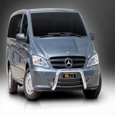 BULLBAR INOX COMPATIBIL CU MERCEDES VITO/VIANO 2005-2013 - Tuning camioane