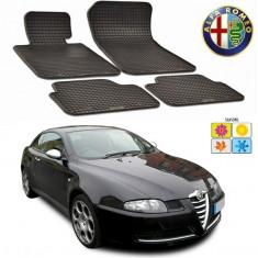 Set covorase auto Hitech din cauciuc Alfa Romeo GT 2003-2010