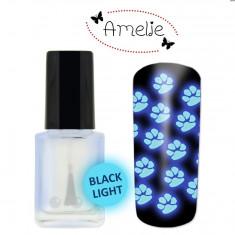 Oja de matrita Amelie fluorescenta la lumina UV 12ml - Lac de unghii