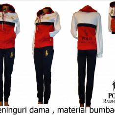 TRENINGURI ORIGINALE POLO RALPH LAUREN, BUMBAC, MODEL NOU, LIVRARE GRATUITA - Trening dama Polo Sport, Marime: S, M, L, XL, XXL, Culoare: Din imagine