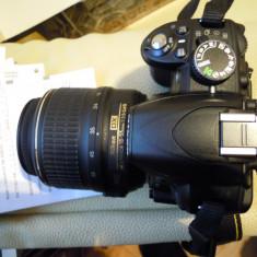Nikon d3100 +obiectiv +cutie cu accesorii, ca si nou - Aparat Foto Nikon D3100