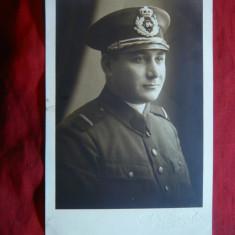 Fotografie Ofiter in Uniforma cu nr 84 pe Chipiu 1931 - Fotografie veche