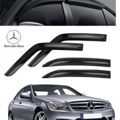 Paravanturi Fata Spate WeatherTech Mercedes-Benz Clasa C 2007-2014 w204 Berlina - Paravanturi tuning