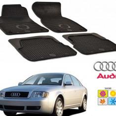 Set covorase auto Hitech din cauciuc pentru Audi A6 C5 1999-2004