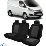 Huse Scaun Ford Transit Custom 2012-2016 3 locuri Confort Line - Husa Auto