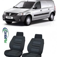 Huse Scaun Dacia Logan Mcv Van 2006-2013 2 locuri Confort Line - Husa scaun auto