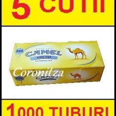 Tuburi tigari CAMEL - 1000 tuburi tigari / filtre tigari - Foite tigari