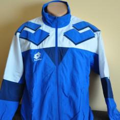 Bluza trening LOTTO. Marimea S. Vintage, Retro - Trening barbati, Marime: S, Culoare: Albastru