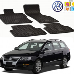 Set covorase auto Hitech din cauciuc Vw Passat B6 2005-2010 Berlina/Break