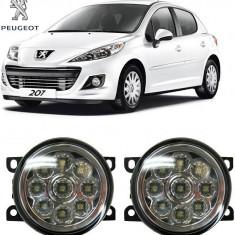 Proiectoare Ceata cu Leduri Peugeot 207 2006-2013 - Proiectoare tuning