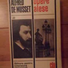 Opere Alese - Alfred De Musset, 534573 - Roman, Anul publicarii: 1968