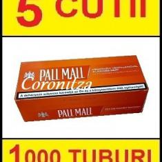 Tuburi tigari PALL MALL carbon - 1000 tuburi tigari / filtre tigari
