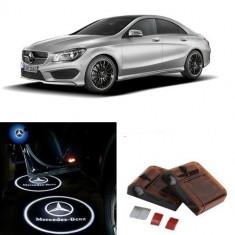 Proiectoare Logo Holograma cu sigla Mercedes-Benz dedicat pentru Mercedes Benz CLA - Embleme auto
