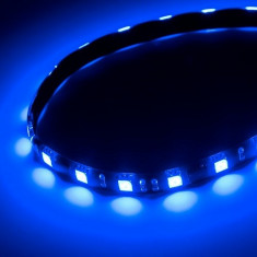 Banda flexibila 12 LED-URI 5050 (30 CM) lumina albastra 24V - Tuning camioane